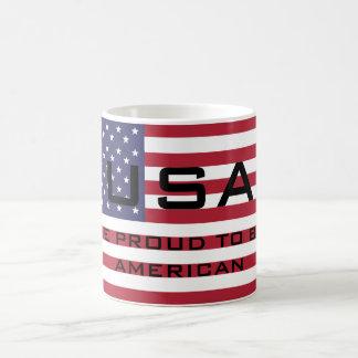 Stars and Stripes Template Coffee Mug