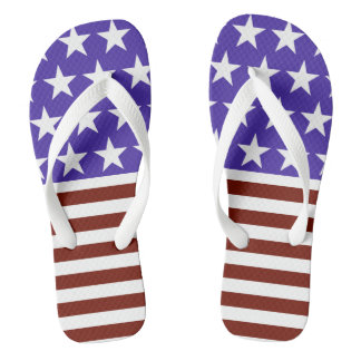 Stars and Stripes Thongs