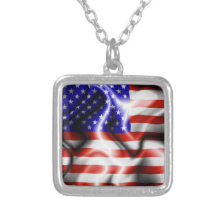 Stars and Stripes USA Flag  necklaces