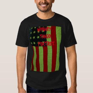 Stars and Stripes WTF T Shirts