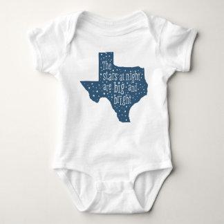 Stars at Night Texas Baby Bodysuit