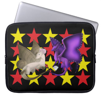 Stars BFF Butterfly Dragons Laptop Sleeve
