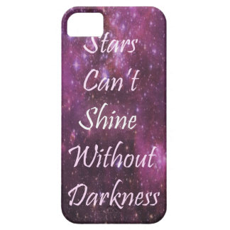 Stars Can't shine quote case Barely There iPhone 5 Case