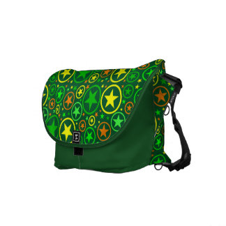 STARS & CIRCLES messenger bag