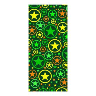 STARS & CIRCLES rack card - customize!