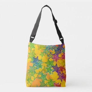 Stars Custom All-Over-Print Cross Body Bag