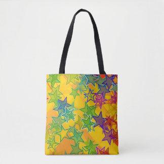 Stars Custom All-Over-Print Tote Bag