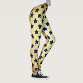Stars everywhere. leggings
