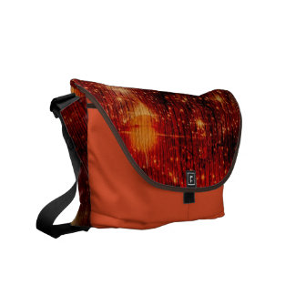 stars falling down abstract courier bags