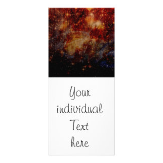 stars falling down,abstract rack card design