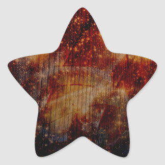stars falling down, abstract star sticker