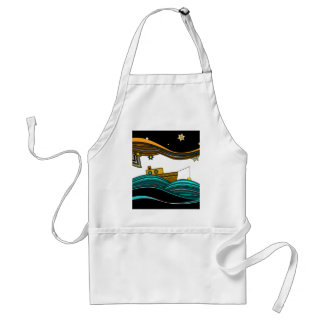 stars fishing apron