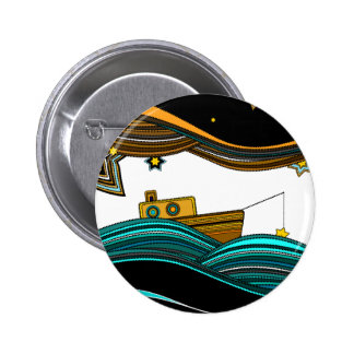 stars fishing buttons