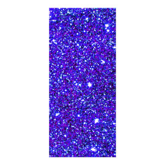 Stars Glitter Sparkle Universe Infinite Sparkly Rack Card Template
