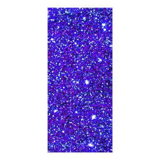Stars Glitter Sparkle Universe Infinite Sparkly Rack Card Template