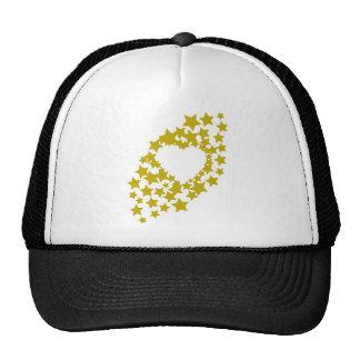stars-heart hats