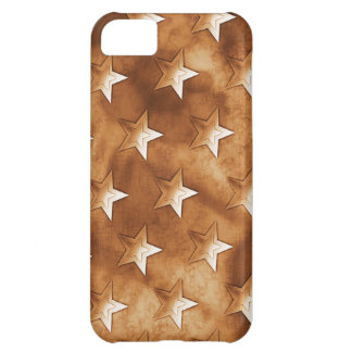 Stars in Brown iPhone 5C Cases