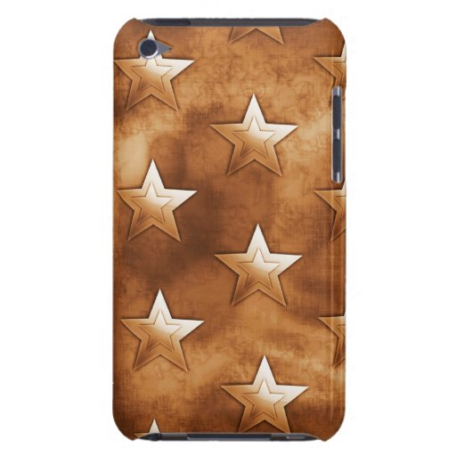 Stars in Brown iPod Touch Covers