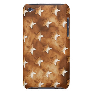 Stars in Brown Barely There iPod Cover
