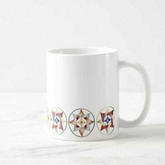 Stars in Circles Matching Set - Classic Mug - 2