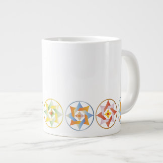 Stars in Circles Matching Set - Jumbo Mug - 1