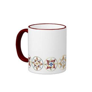 Stars in Circles Matching Set - Ringer Mug - 4