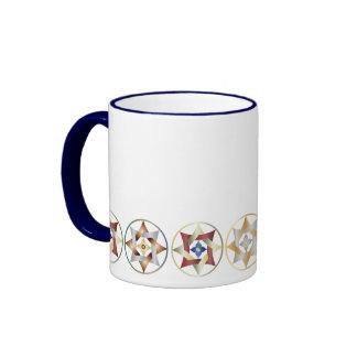 Stars in Circles Matching Set - Ringer Mug - 5