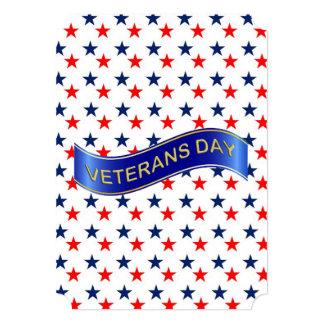 Stars In My Eyes Veterans Day Party Invite