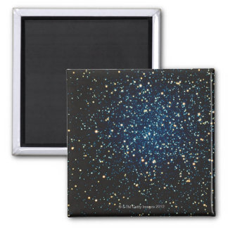 Stars in Space 2 Square Magnet