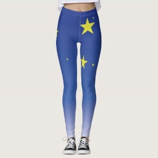 Stars in the sky. leggings