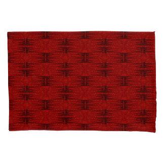 Stars Love Birth-day Red Black Pillowcase