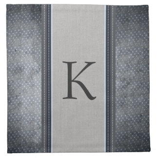 Stars Monogram Cloth Napkins