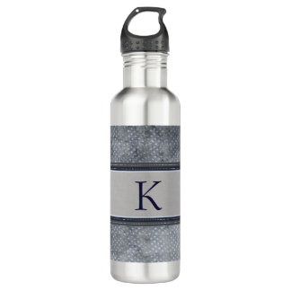 Stars Monogram Water Bottle