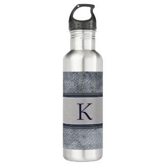 Stars Monogram Water Bottle 710 Ml Water Bottle