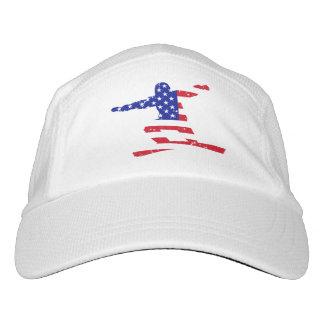 Stars 'n' Stripes SNOWBOARDER (wht) Hat