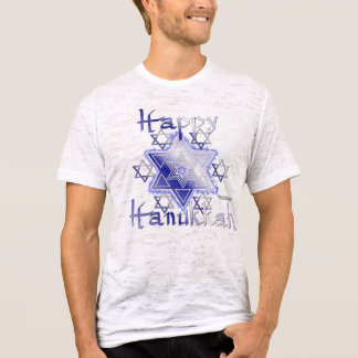 Stars of David Men's Burnout Shirt