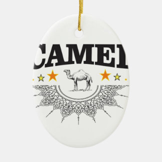 stars of the camel ceramic ornament