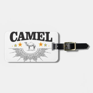 stars of the camel luggage tag