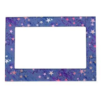 Stars on Blue Magnetic Frame
