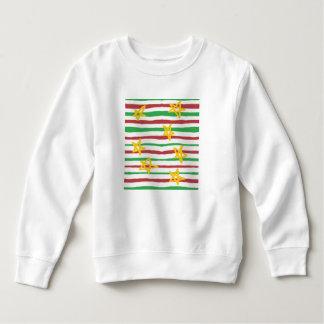 Stars on Christmas Stripes Sweatshirt