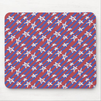 Stars on Stripes Mouse Pad