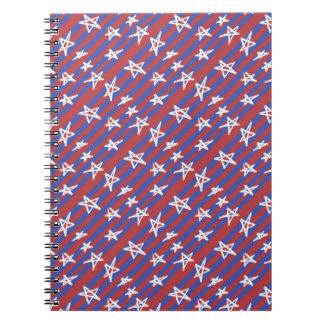 Stars on Stripes Notebook