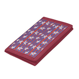 Stars on Stripes Tri-fold Wallet