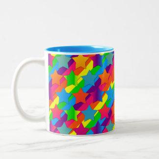 Stars on Stripes-Two Toned Coffee Mug