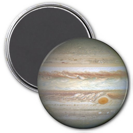 Stars on the fridge: Jupiter Refrigerator Magnets