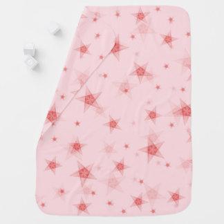 Stars pattern baby blanket