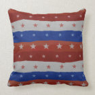 Stars Pattern USA Cushion