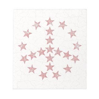Stars Peace Memo Pad