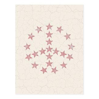 Stars Peace Postcard