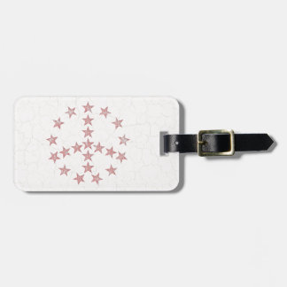 Stars Peace Tag For Bags